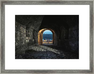 Gate At Kalemegdan Fortress, Belgrade Framed Print