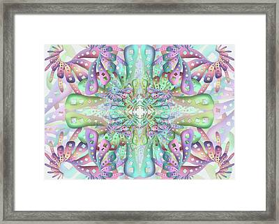 Genome Remix Framed Print
