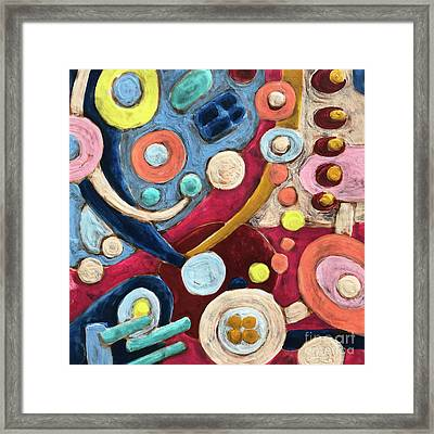 Geometric Abstract 2 Framed Print