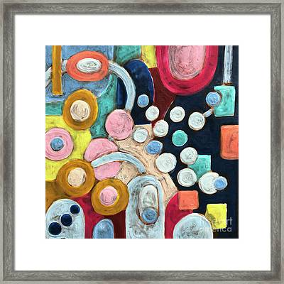 Geometric Abstract 3 Framed Print