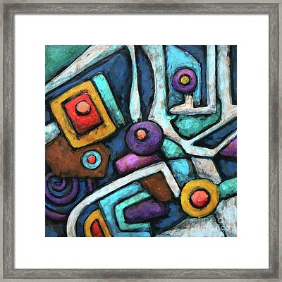 Geometric Abstract 6 Framed Print