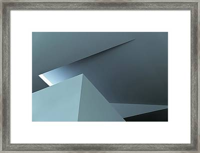 Geometric Architecture Framed Print