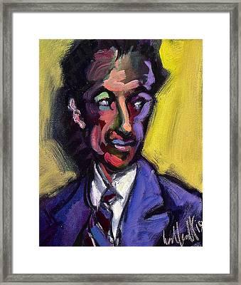 george Gershwin Framed Print
