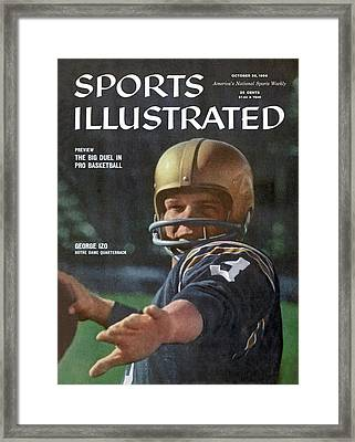 Framed 11x14 Notre Dame Miracle Sports Illustrated Cover