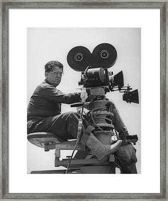 George Stevens Framed Print by Allan Grant