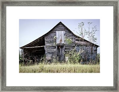 Georgia Barn Framed Print