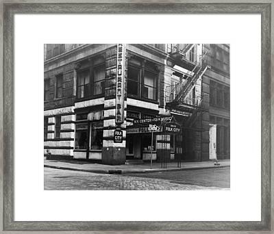 Gerdes Folk City Framed Print by Hulton Archive