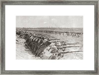 German Trench Framed Print by Fpg