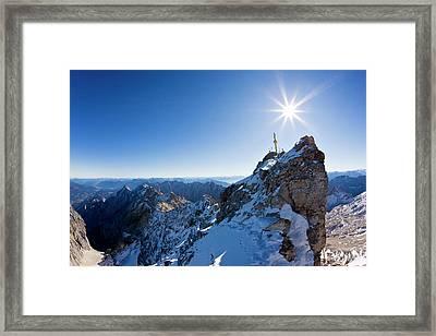 Germany, Bavaria, Wetterstein Framed Print by Westend61