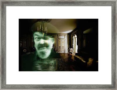 Ghost Of Dr. John Framed Print