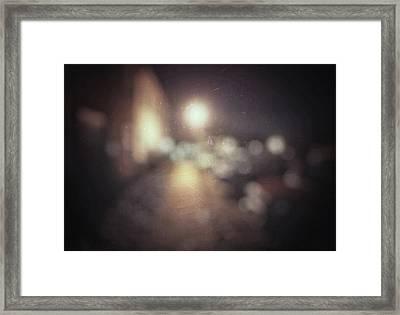 ghosts III Framed Print