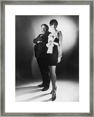 Gianfranco Ferre In France - Framed Print by Herve Bruhat