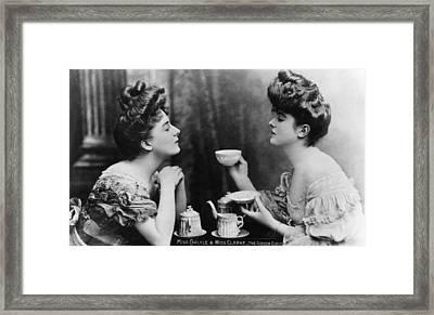Gibson Girls Framed Print by Hulton Archive
