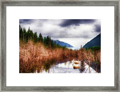 Glacial Waters Framed Print