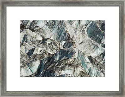 Glacier Ice 1 Framed Print