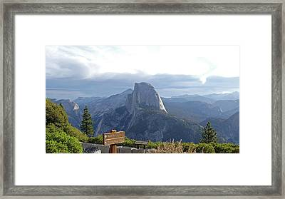 Glacier Point Framed Print