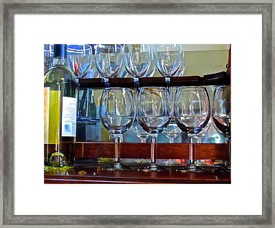 Glass Act... Framed Print