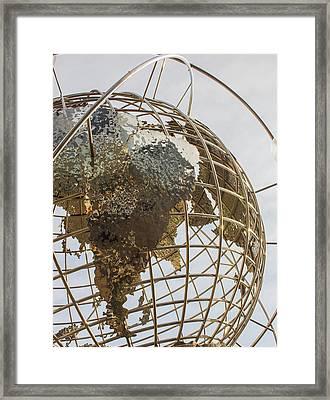 Globe 1 Framed Print