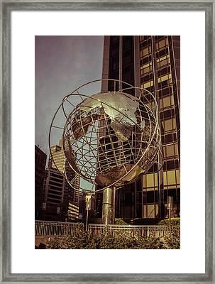 Globe 2 Framed Print