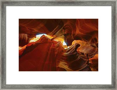 Framed Print featuring the photograph Antelope Jagged Beauty by Mark Duehmig