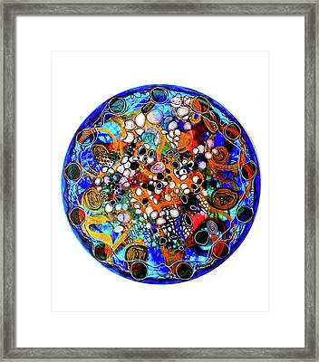 Go With The Flow 1 Framed Print