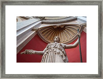 Framed Print featuring the photograph Goddess Of The Harvest by Steven Sparks