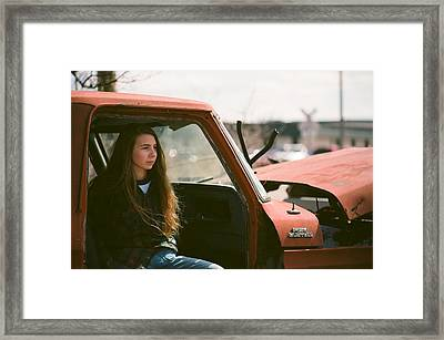 Framed Print featuring the photograph Going Nowhere by Carl Young
