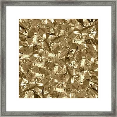 Gold Best Gift  Framed Print