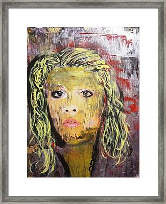Gold Dust Woman Framed Print
