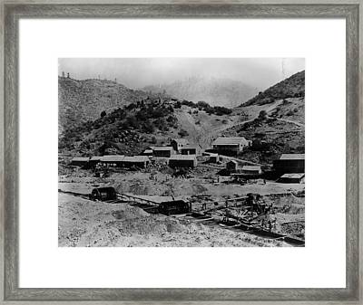 Gold Rush Framed Print by E. P. Vollum