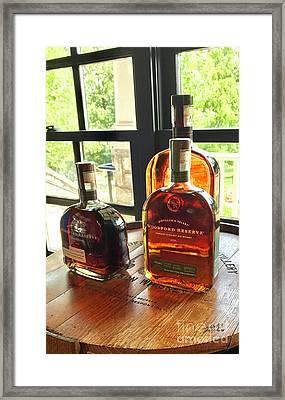 Golden Bourbon 2 Framed Print