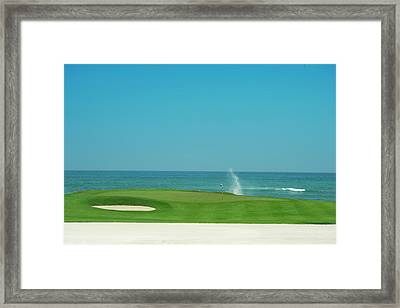 Golfers Paradise Framed Print by Caracterdesign