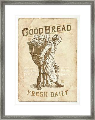 Good Bread Framed Print