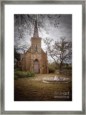 Gothic Revival Church  Framed Print