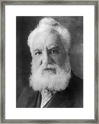Graham Bell Framed Print by Topical Press Agency