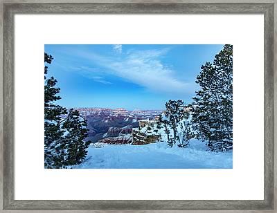 Grand Canyon Blue Hour Framed Print