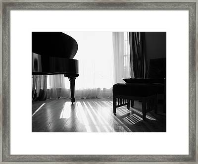 Grand Piano Framed Print
