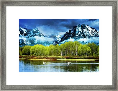 Grand Teton National Park Framed Print