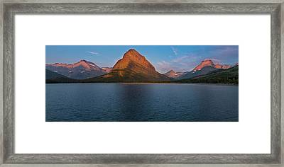 Framed Print featuring the photograph Grandeur by Expressive Landscapes Fine Art Photography by Thom