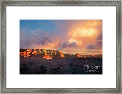 Framed Print featuring the photograph Grandview Point 1 by Scott Kemper