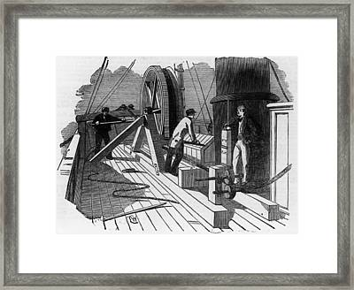 Great Eastern Framed Print by Hulton Archive