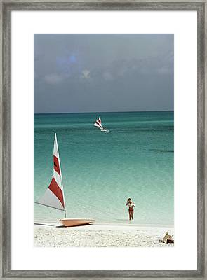 Great Harbour Cay Framed Print