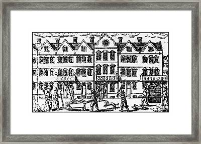 Great Plague Of London Framed Print by Hulton Archive