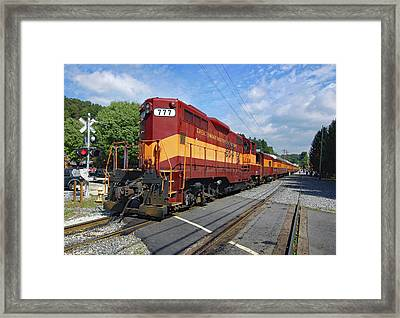 Great Smoky Mountains Railroad 1 Framed Print