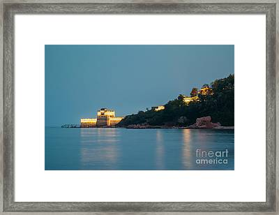 Great Wall At Night Framed Print