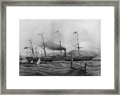 Great Western Framed Print by Rischgitz
