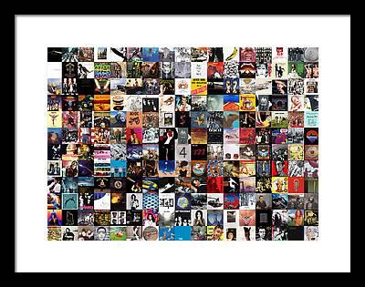 Collage Framed Prints