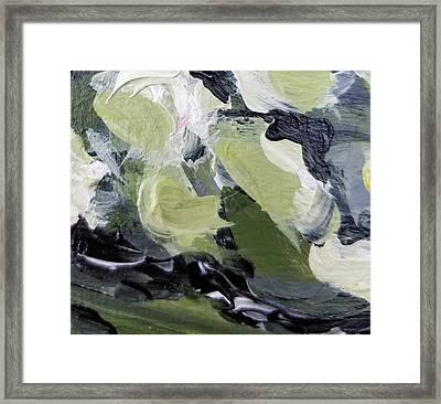 Green #1 Framed Print