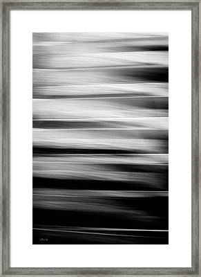 Abstract Waves Framed Print
