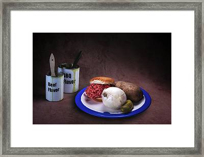 Grill Ready Framed Print